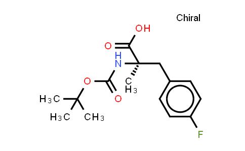 Boc-alpha-methyl-D-4-Fluorophenylalanine