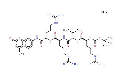 Boc-Arg-Val-Arg-Arg-7-氨基-4-甲基香豆素乙酸盐