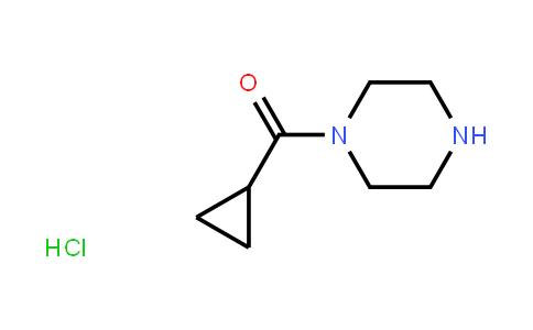 Piperazine, 1-(cyclopropylcarbonyl)-, monohydrochloride
