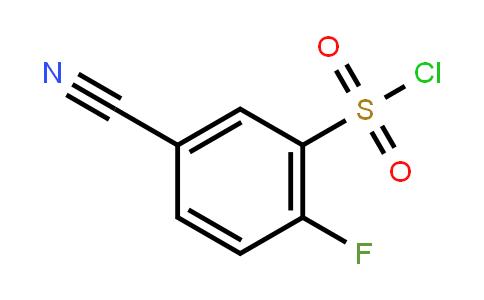 2-氟-5-氰基苯磺酰氯