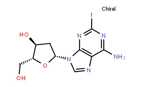 2-iodo-9-<2-deoxy-β-D-ribofuranosyl>adenine