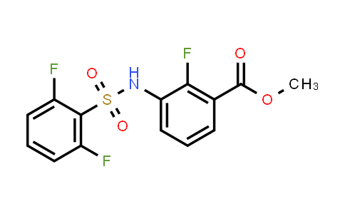 Methyl 3-(2,6-difluorophenylsulfonamido)-2-fluorobenzoate
