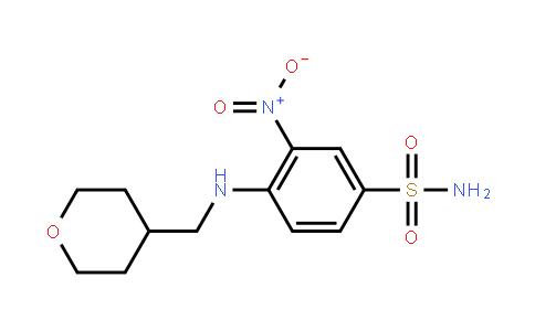 3-硝基-4-[[(四氢吡喃-4-基)甲基]氨基]苯磺酰胺