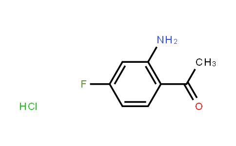 1-(2-氨基-4-氟苯基)乙-1-酮鹽酸鹽