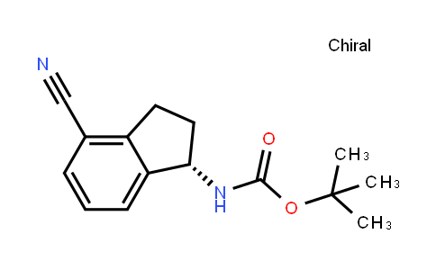 (R)-tert-butyl 4-cyano-2,3-dihydro-1H-inden-1-ylcarbamate