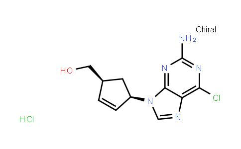 [(1S,4R)-4-(2-氨基-6-氯-9H-嘌呤-9-基)-2-环戊烯]甲醇盐酸盐