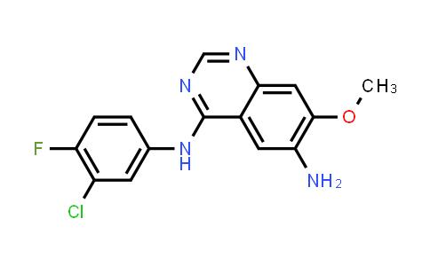 N-(3-chloro-4-fluorophenyl)-7-methoxy-6-aminoquinazolin-4-amine