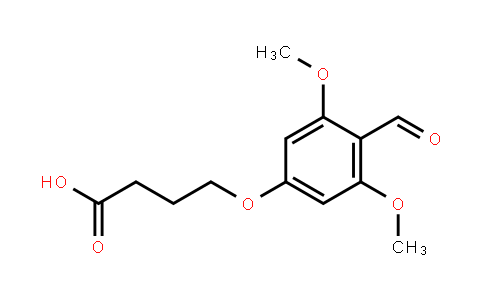 4-(4-Formyl-3,5-dimethoxyphenoxy)-butanoic acid