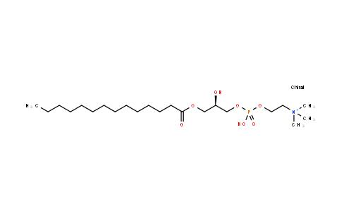 1-肉豆蔻-sn-甘油-3-磷酸胆碱