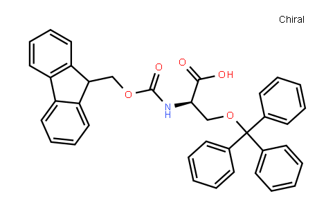 FMOC-D-丝氨酸(TRT)