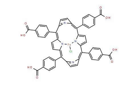 Fe(III) meso-Tetra(4-carboxyphenyl)porphine chloride