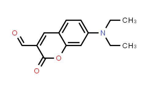 2H-1-苯并吡喃-3-羧醛, 7-(二乙基氨基)-2-氧代-