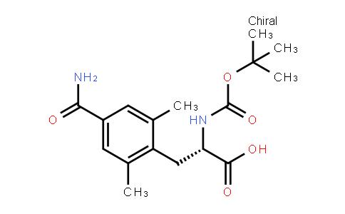 4-(aMinocarbonyl)-n-[(1,1-dimethylethoxy)carbonyl]-2,6-dimethyl-l-phenylalanine
