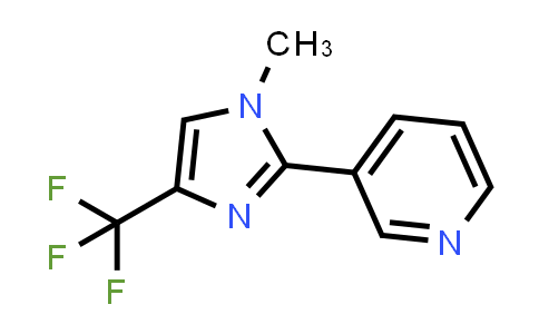 3-(1-Methyl-4-(trifluoromethyl)-1H-imidazol-2-yl)pyridine