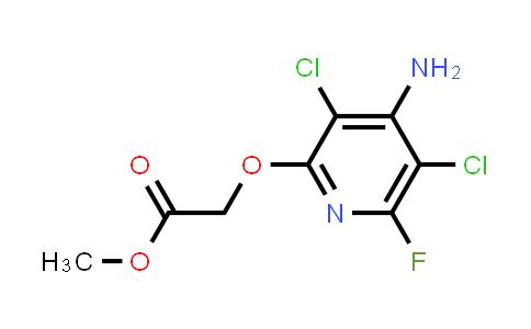 Methyl (4-amino-3,5--dichloro-6-fluoro-2-pyridinyloxy)acetate