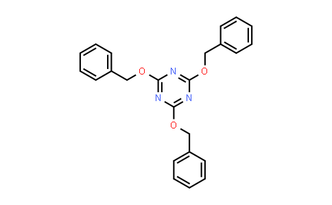 2,4,6-Tris(phenylmethoxy)-1,3,5-triazine