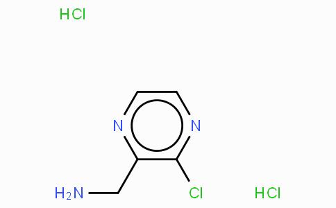 3-氯吡嗪-2-甲胺二盐酸盐