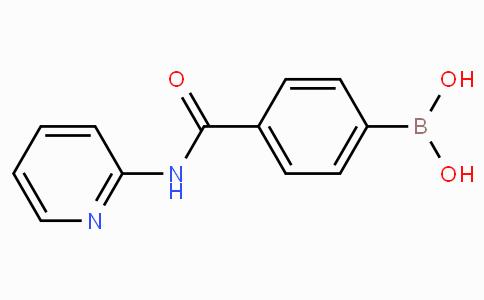 4-(砒啶-2-基)甲酰氨苯基硼酸