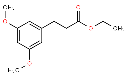 Ethyl 3,5-dimethoxy-benzenepropanoate