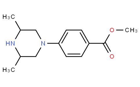 Benzoic acid, 4-(3,5-dimethyl-1-piperazinyl)-, methyl ester