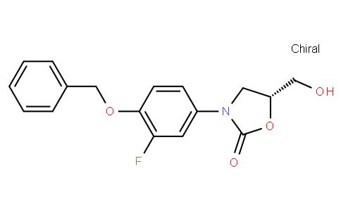 (R)-3-(4-(benzyloxy)-3-fluorophenyl)-5-(hydroxymethyl)oxazolidin-2-one