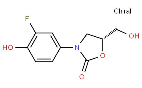 (R)-3-(3-fluoro-4-hydroxyphenyl)-5-(hydroxymethyl)oxazolidin-2-one