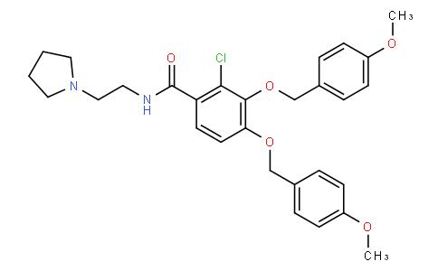 2-chloro-3,4-bis[(4-methoxyphenyl)methoxy]-N-[2-(1-pyrrolidinyl)ethyl]Benzamide