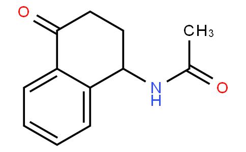 N-(1,2,3,4-tetrahydro-1-oxonaphthalen-4-yl)acetamide