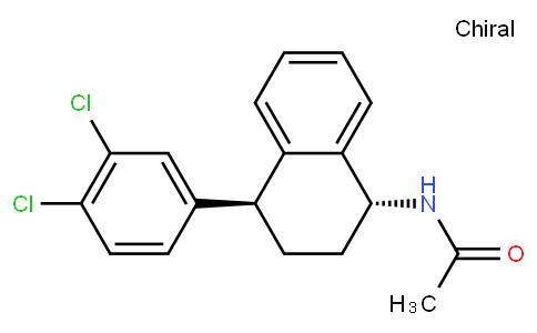 N-((1S,4R)-1-(3,4-dichlorophenyl)-1,2,3,4-tetrahydronaphthalen-4-yl)acetamide