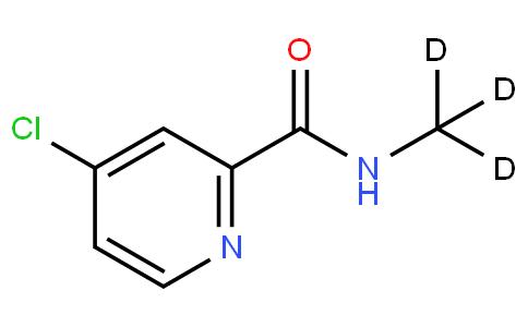 4-chloropyridine-2-(N-(methyl-d3))formamide
