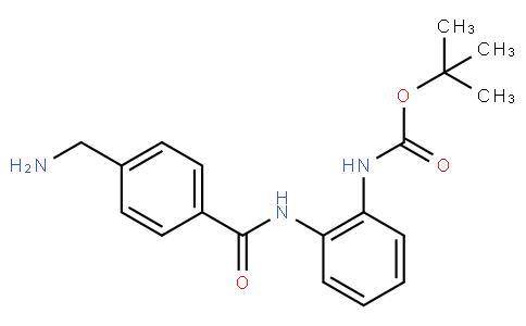 tert-butyl N-{2-[4-(aminomethyl)benzamido]phenyl}carbamate