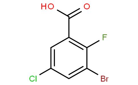 Benzoic acid, 3-broMo-5-chloro-2-fluoro-