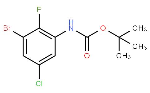 CarbaMic acid, N-(3-broMo-5-chloro-2-fluorophenyl)-, 1,1-diMethylethyl ester
