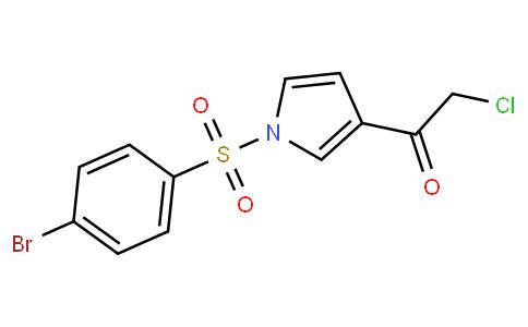 1-(1-(4-bromophenylsulfonyl)-1H-pyrrol-3-yl)-2-chloroethanone