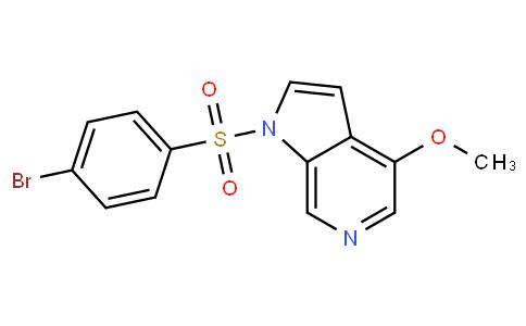 1-(4-bromophenylsulfonyl)-4-methoxy-1H-pyrrolo[2,3-c]pyridine