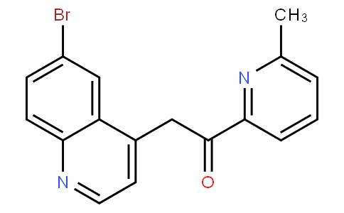 Ethanone, 2-(6-broMo-4-quinolinyl)-1-(6-Methyl-2-pyridinyl)-