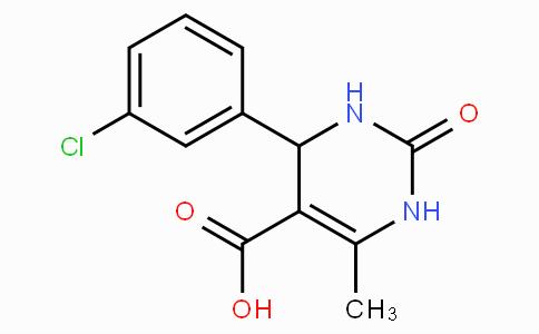 4-(3-氯苯基)-1,2,3,4-四氢-6-甲基-2-氧代-5-嘧啶羧酸
