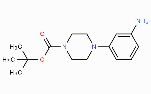 3-(4-叔丁氧羰-哌嗪-1-基)苯胺