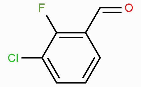 3-氯-2-氟苯甲醛
