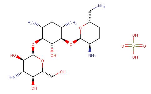 地貝卡星硫酸鹽
