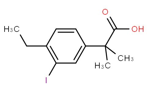 2-(4-乙基-3-碘苯)-2-甲基丙酸