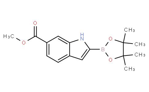 6-Methoxycarbonylindole-2-boronic acid pinacol ester