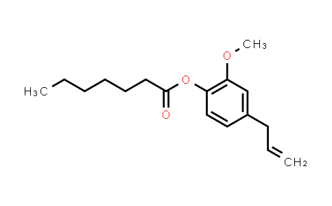 eugenyl heptanoate