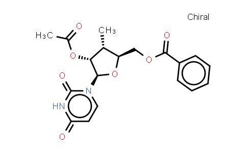 2'-O-Acetyl-5'-O-benzoyl-3'-deoxy-3'-C-alpha-methyluridine