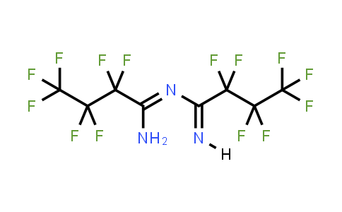 (1E)-N-[(1Z)-1-Amino-2,2,3,3,4,4,4-Heptafluorobutylidene]-2,2,3,3,4,4,4-Heptafluorobutanimidamide