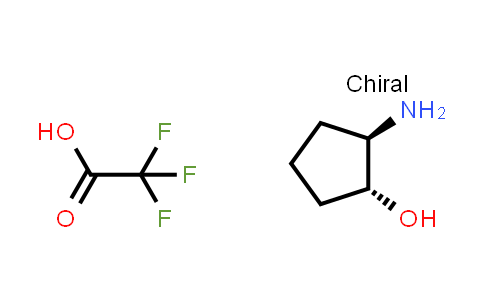 (1R,2R)-2-Amino-cyclopentanol Trifluoroacetic Acid Salt