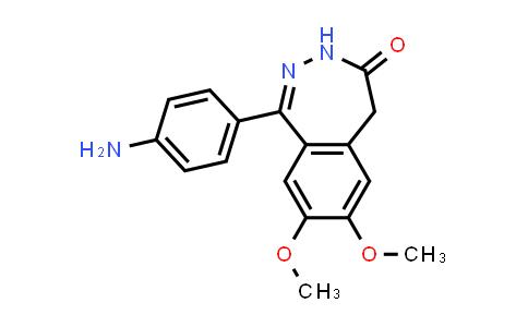 1-(4-Aminophenyl)-3,5-dihydro-7,8-dimethoxy-4H-2,3-benzodiazepin-4-one