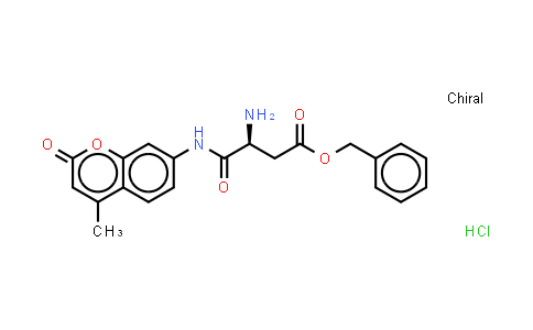 L-Aspartic acid beta-benzyl ester 7-amido-4-methylcoumarin hydrochloride