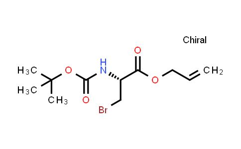 L-N-t-Boc-2-bromomethyl glycine allyl ester
