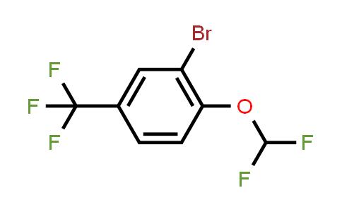 2-Bromo-1-(difluoromethoxy)-4-(trifluoromethyl)benzene